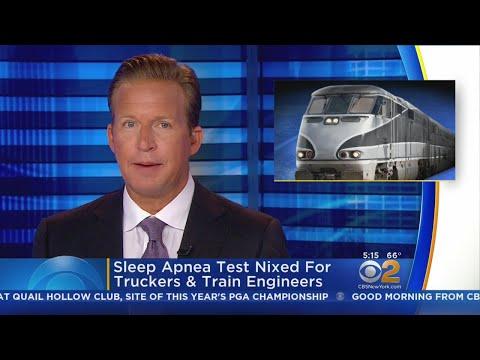 Sleep Apnea Test Nixed For Truckers & Train Engineers