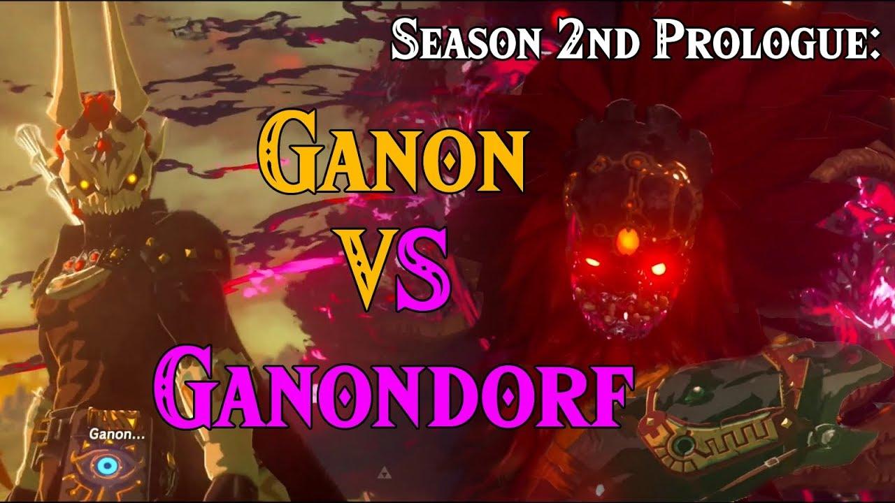 Season 2nd Prologue Ganondorf Vs Ganon In Four Links Adventures Within Zelda Breath Of The Wild