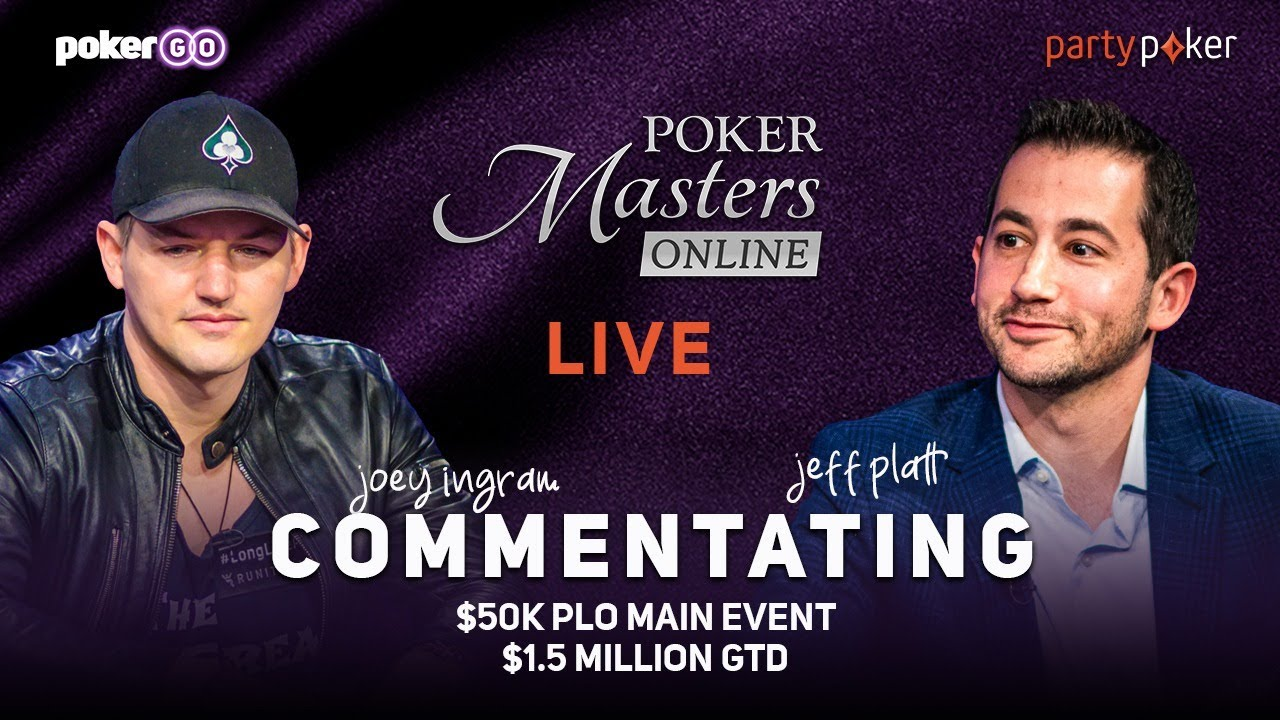 Poker Masters Online PLO Series $50k Main Event Final Table