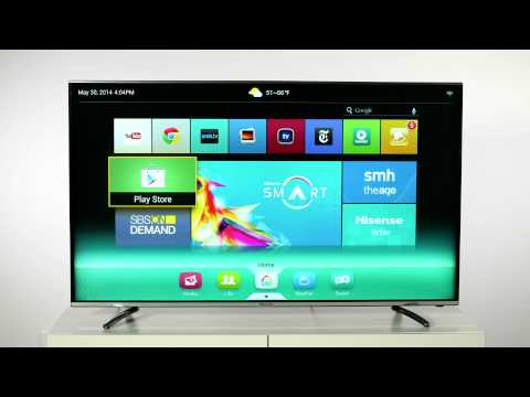 how to get foxtel app on hisense smart tv