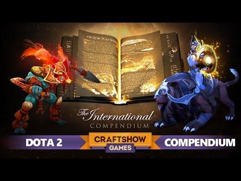видео: dota 2: Обзор the international compendium 2015 от mjramon