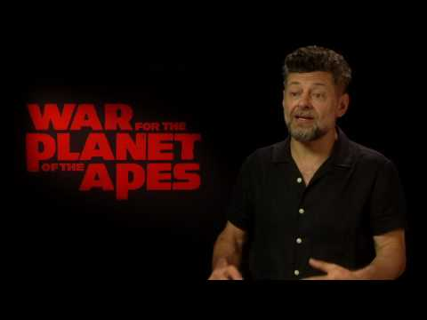 War For The Planet of the Apes Official Interview - Andy Serkis