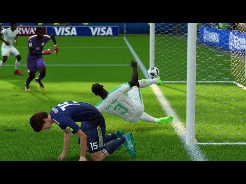 World Cup 2018 - Japan vs Senegal - Group H Full Match Sim (FIFA 18)