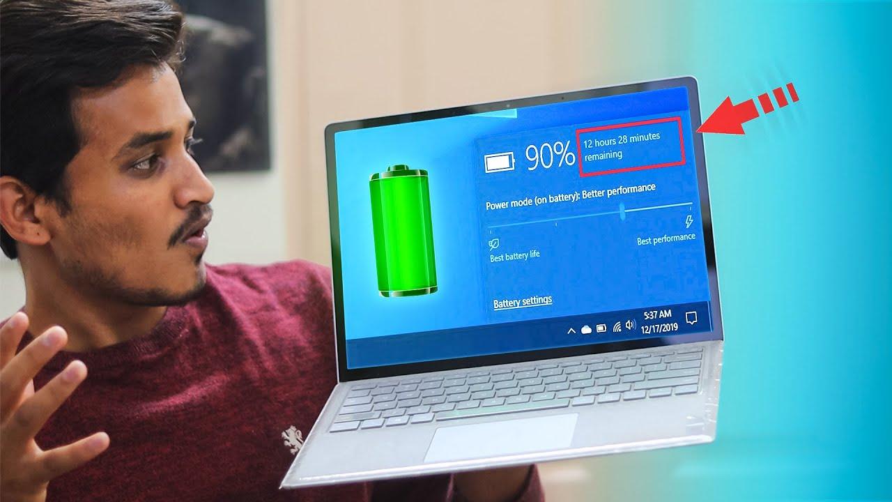 Kiểm tra tuổi thọ Pin Laptop bằng báo cáo trong Windows