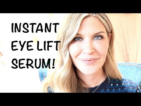 INSTANT EYE LIFT SERUM! Perfect Eye Cream For Pictures + Special Events!!  GIVEAWAY!