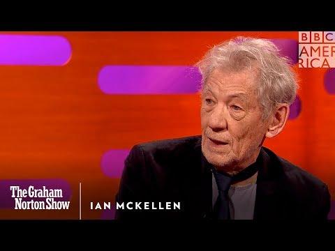 "Ian McKellen Cries Himself to Sleep Over ""Logan""   The Graham Norton Show   Saturdays @ 11/10c"