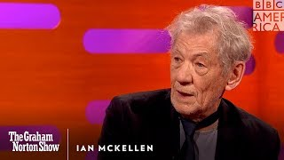 "Ian McKellen Cries Himself to Sleep Over ""Logan"" 