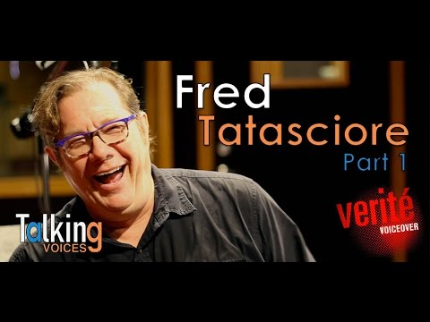 """Talking Voices"" Fred Tatasciore Part 1"