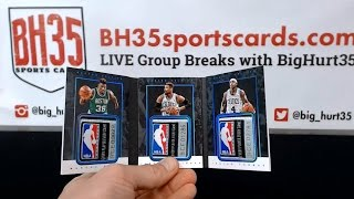 201516 Panini Preferred Basketball | 8 Box Case Break #1 Pick Your Teams