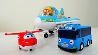 Tayo küçük otobüs, Harika Kanatlar Jett oyuncak kreşimizde