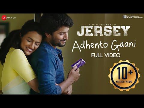 Adhento Gaani Vunnapaatuga - Full Video | JERSEY | Nani, Shraddha Srinath | Anirudh Ravichander