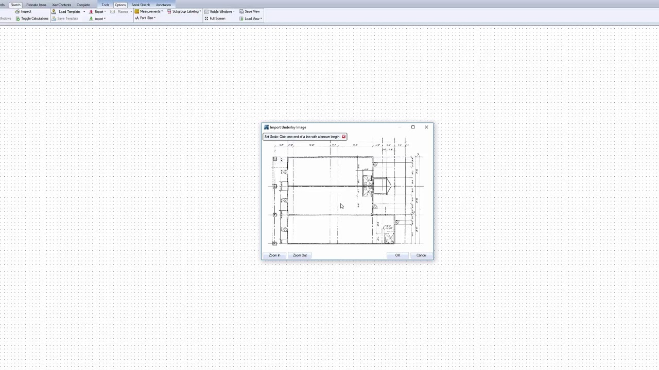 Import a Floor Plan into Xactimate – Help Center