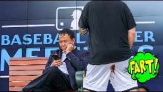 Funny Wet Fart Prank | The Sharter at The MLB Winter Meetings