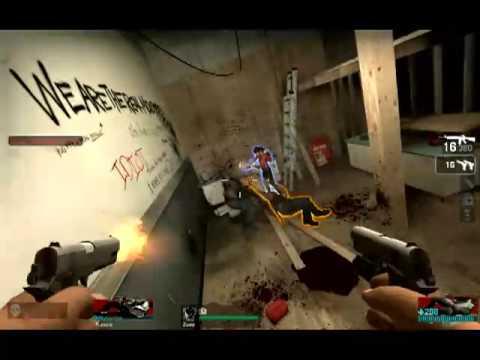 Left 4 Dead Tank Breaks Saferoom Door [HQ]