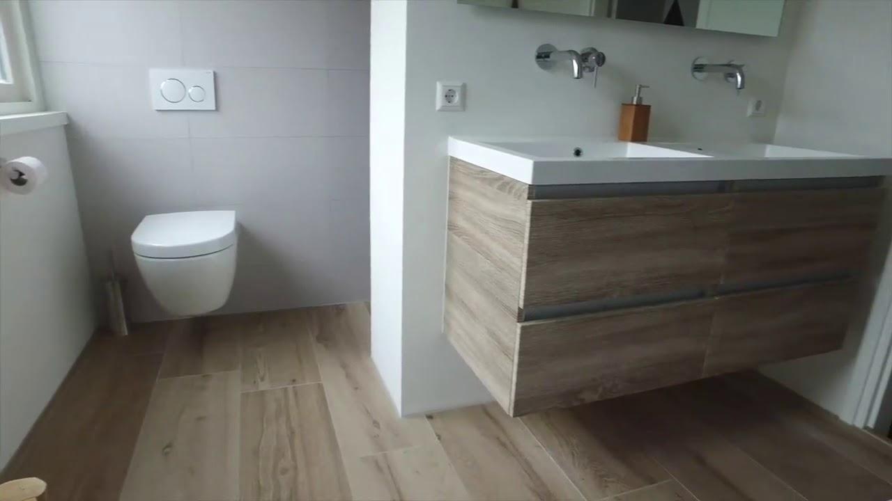 Een unieke badkamer in Zeewolde - doorSchor - YouTube
