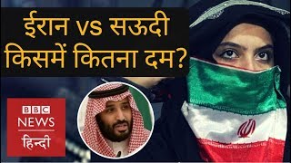 Iran vs Saudi Arabia: Who is more powerful? (BBC Hindi)