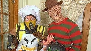 Scorpion & Freddy Krueger Make PIE! (Cooking With Scorpion #6) Mortal Kombat