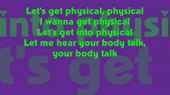 Physical - Olivia Newton John w/ lyrics