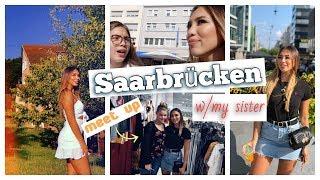 Trip mit meiner Schwester nach Saarbrücken 👭 -Adorable Caro