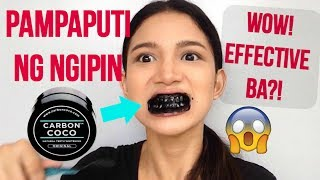 Baixar Carbon Coco Teeth Whitening First Impression Review + DEMO! (Philippines) | Tyra C.