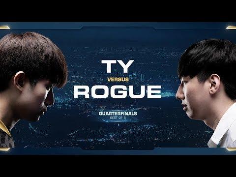 Rogue vs TY ZvT - Quarterfinals - 2018 WCS Global Finals - StarCraft II