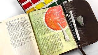 Bible Journaling 2 Corinthians 1:3-4, Defeating Depression