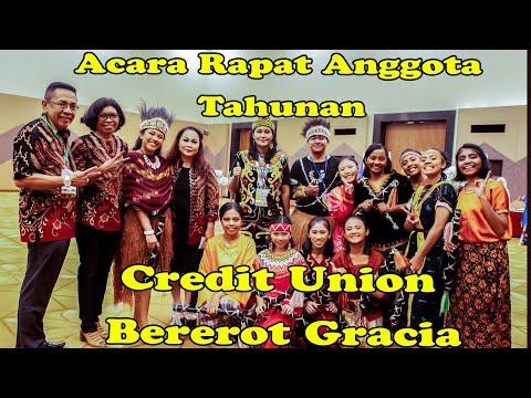 Acara Rapat Anggota Tahunan  Credit Union Bererot Gracia