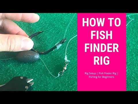 Rig Setup | Fish Finder Rig | Fishing For Beginners