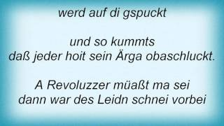 Konstantin Wecker - A Revoluzzer Lyrics