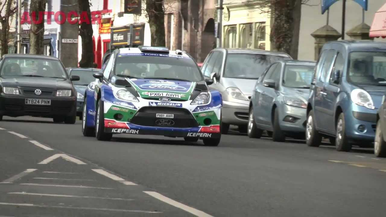 Ford Fiesta WRC video review by autocar.co.uk - YouTube