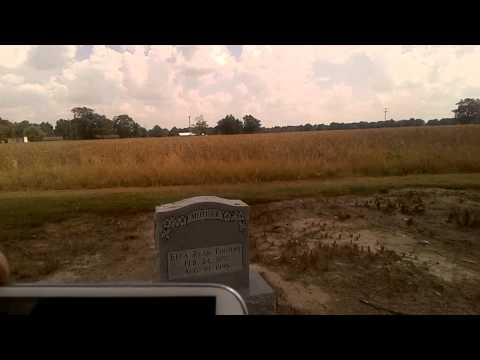 Glendora Mississippi,church and graves