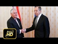[Trump News]US & Russia Sec Rex Tillerson meets Sergei Lavrov at Moscow