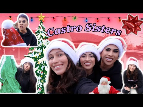The CASTRO SISTERS Decorate For CHRISTMAS!