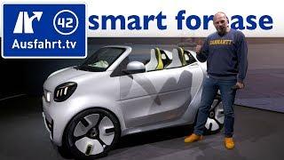 2018 smart forease concept   sitzprobe, erste vorstellung