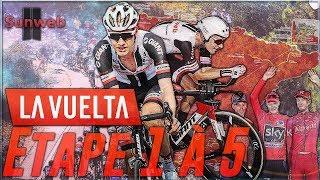 VUELTA A ESPAÑA 2018 | ETAPE 1 A 5