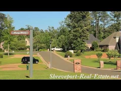 Long Lake Estates Subdivision Neighborhood - Shreveport LA