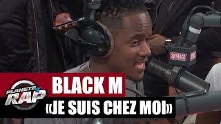 """Black M """"Je suis chez moi"""" en live dans Planète Rap"""