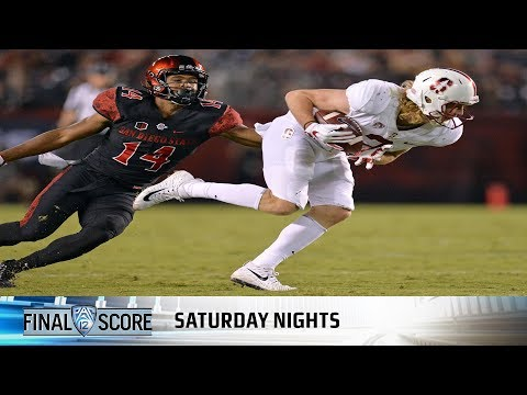 Highlights: Last-minute touchdown pushes San Diego State to 20-17 win over Stanford