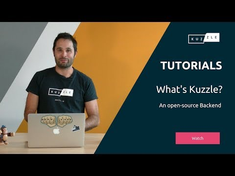 What is Kuzzle? An open-source Backend