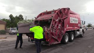 Autocar WX-42 McNeilus Garbage Truck on Bulk!