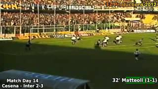 The greatest goals scored in Italian Serie A 1989/90, from match da...