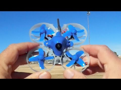 Beta 75 Pro 2 Brushless Whoop FPV Racer Drone Flight Test Review