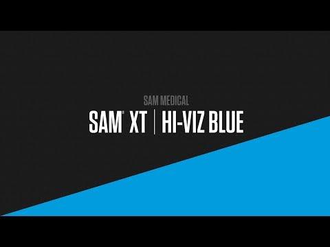 SAM Medical Introduces Hi-Viz Blue to its SAM XT Extremity Tourniquet Product Family