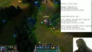 Braum Nerfs Preview - Early Game Braum Nerfs + Pawnce