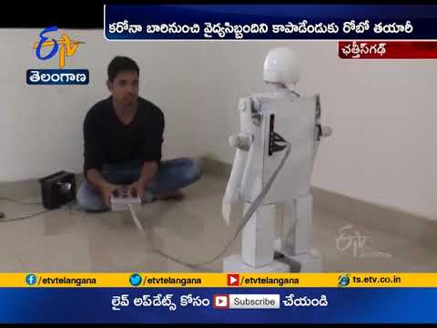 Download Chhattisgarh Student Built a Robot | for Medical Staff to Treat  |COVID-19 Patients