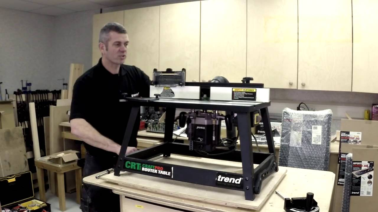 Trend crt mk3 craftpro router table youtube trend crt mk3 craftpro router table greentooth Choice Image