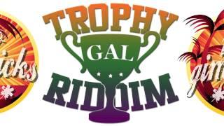 NEW DANCEHALL RIDDIM INSTRUMENTAL - TROPHY GAL RIDDIM - 2014 / REGGAE LEASING