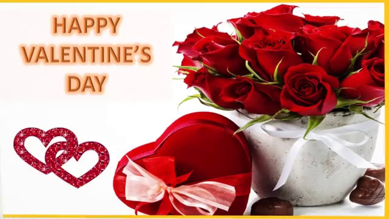 happy valentines day wishes 2016 valentines day whatsapp video valentines day greetings sms 3 youtube - Happy Valentines Day Wishes