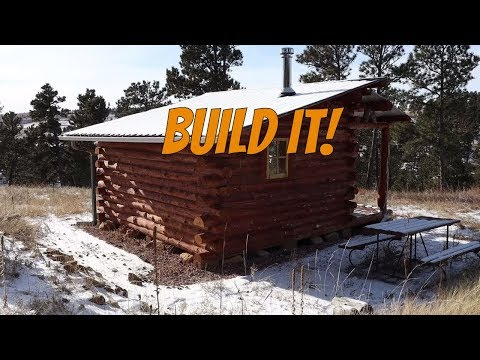 My First Log Cabin - A Simple Design Explained (Answered Questions)