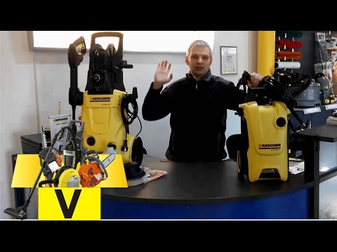Сравнение минмоек Karcher K4 и K5 /Pressure Washer
